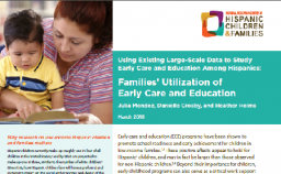Cover of Family Utilization of ECE PDF
